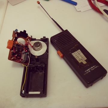 archer space patrol walkie talkie teardown