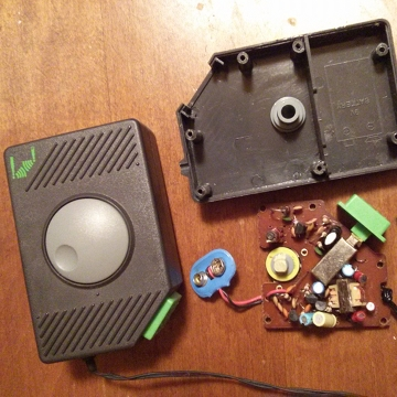 spy tech walkie talkie teardown