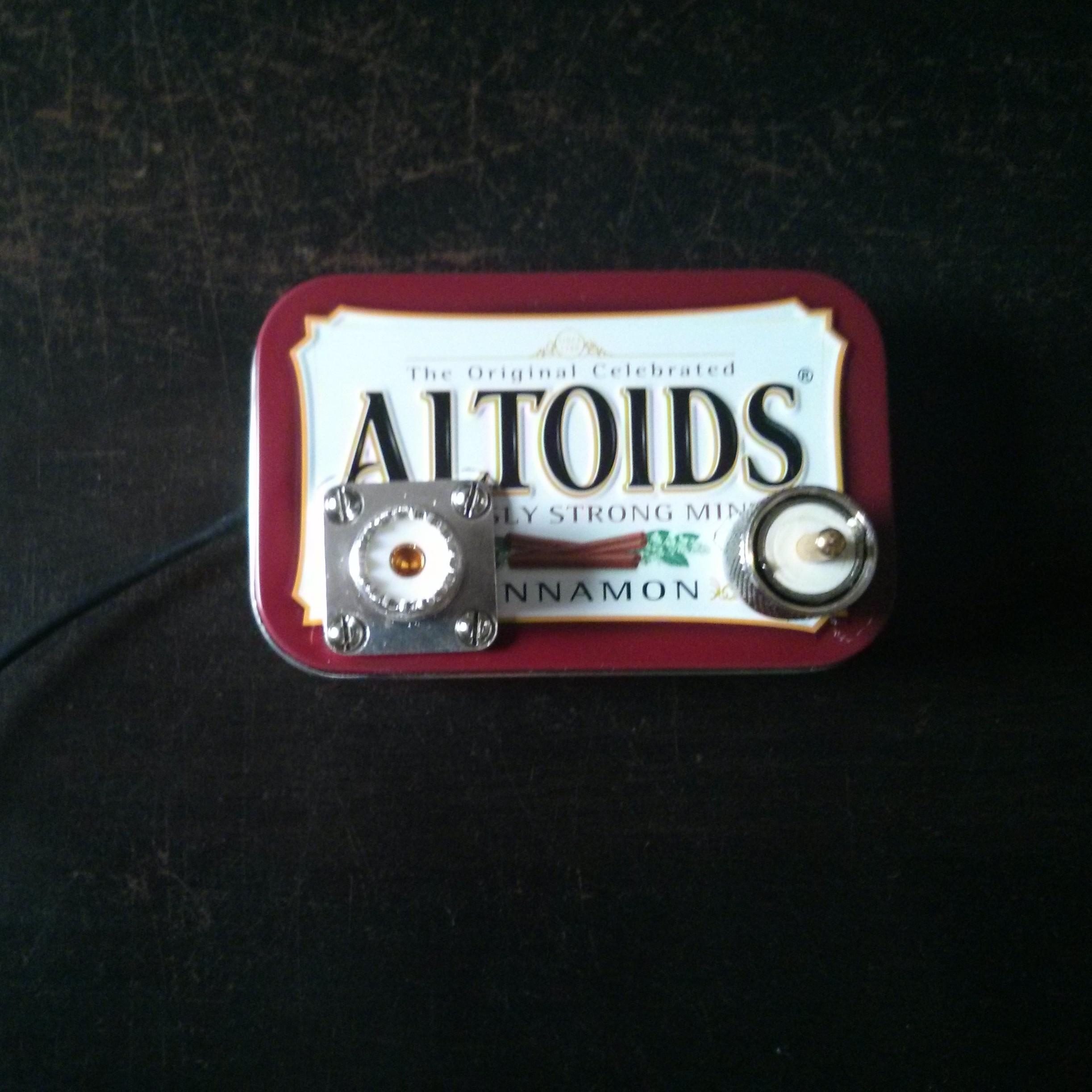 makeRF: An Altoids Tin Low Pass Filter For Shortwave Transmitters
