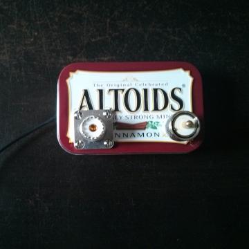 altoids tin low pass filter
