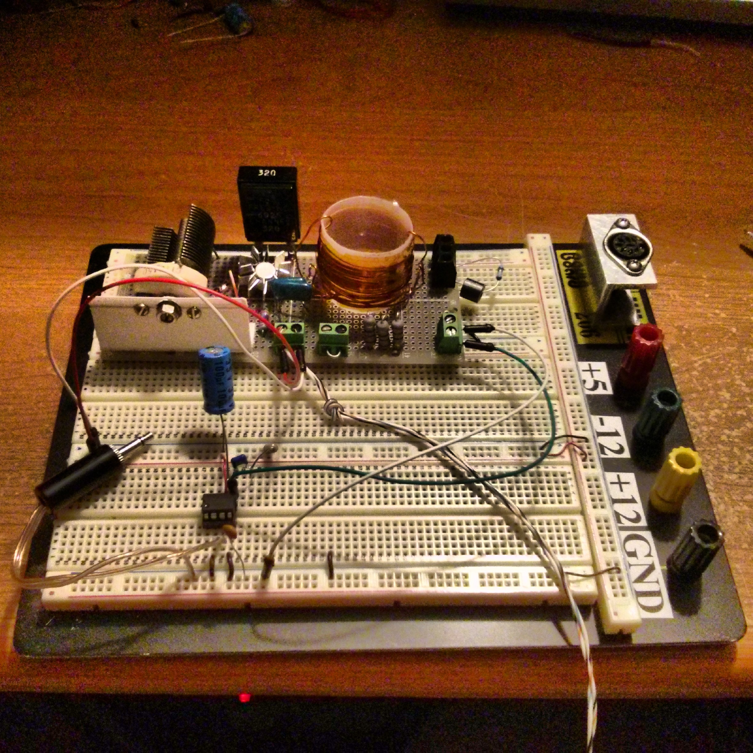 Am Transmitter Antenna Resources June 2014 Modulator And 50w Rf Output Stage Prototype Shortwave Pirate