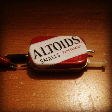 Altoids Smalls crystal radio