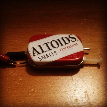 Altoids Smalls crystal radio