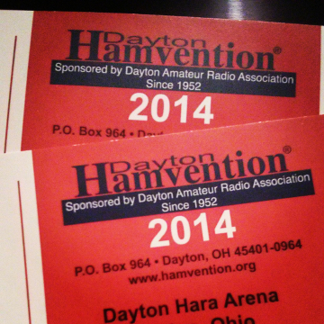 Dayton Hamvention 2014 tickets