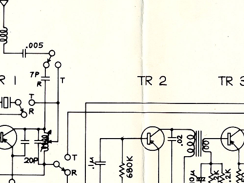 Teardown of 1980s era wakie talkies and transistor radio on inductor oscillator circuit