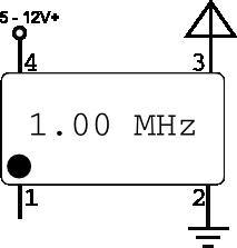 crystal oscillator schematic
