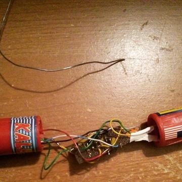 rocket radio assembly